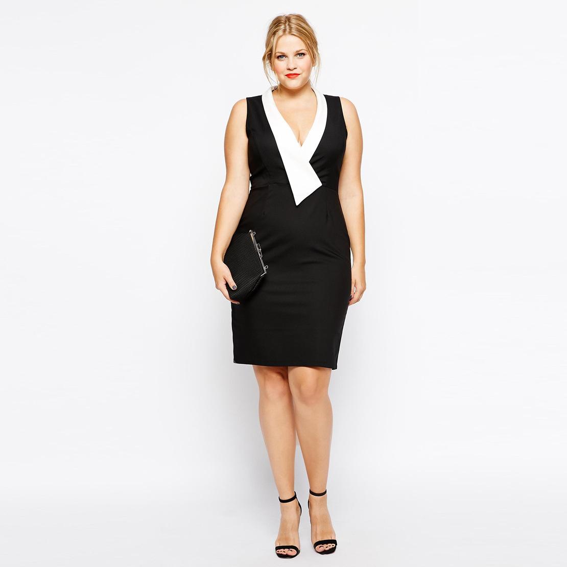New 2016 Spring Summer Style Women Dress Beautiful Black Dresses Sleeveless Oversize Elegant Dress Vestidos Plus Size 4xl(China (Mainland))