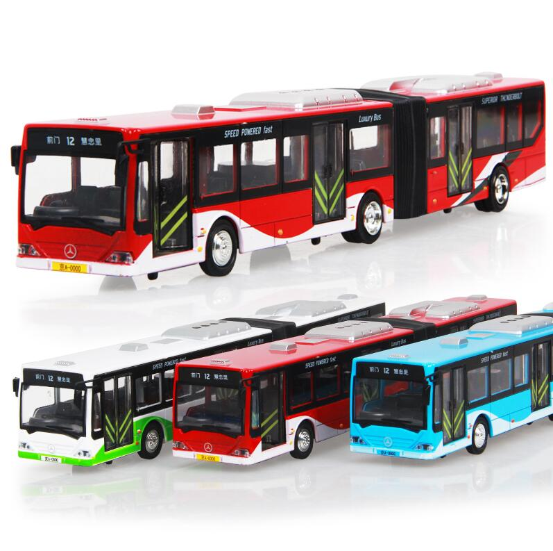 NEW children toys electric school bus 1:10 alloy car models alloy double air-conditioned buses For Baby Toys(China (Mainland))