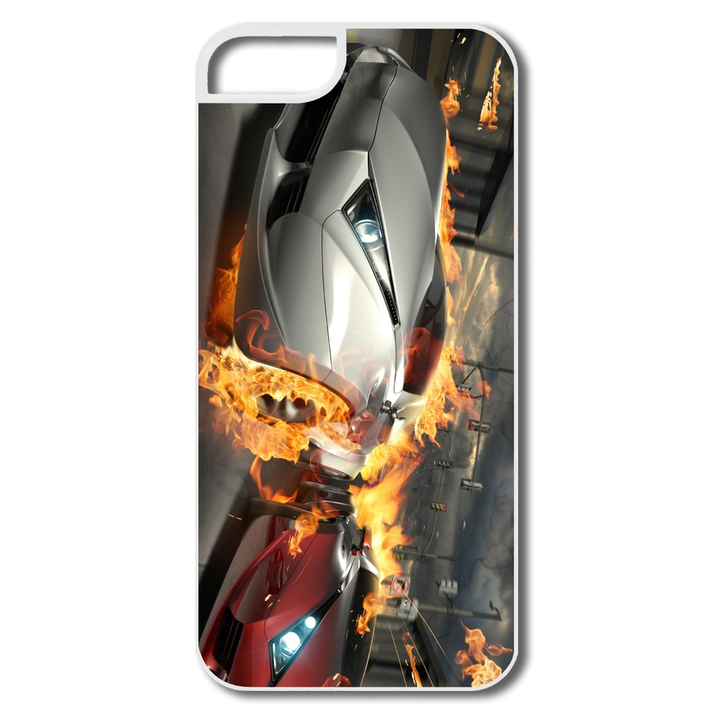 For Iphone 5 Case Customize Vintage Destructive Car Race Art Image 5 5s Covers Top Rated(China (Mainland))