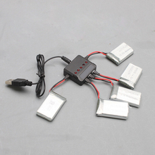 5 in 1 Battery Charger USB Interface for X5C/X5 X3/F4/X4/X2 H107D/X4/H107L/H107C Quadcopter Drone Spare Parts Plug