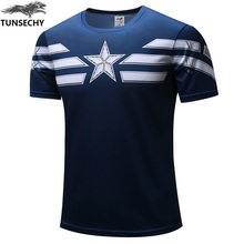 Buy 2017 TUNSECHY Top Sales Superhero T shirt Superman Spiderman Batman Avengers Captain America Ironman Style Clothing XS-4XL for $4.94 in AliExpress store