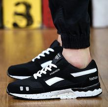 Hot 2016 Fashion Men Casual Shoes Spring Autumn Mens Trainers Breathable Flats Walking Shoes zapatillas hombre Free Shipping(China (Mainland))