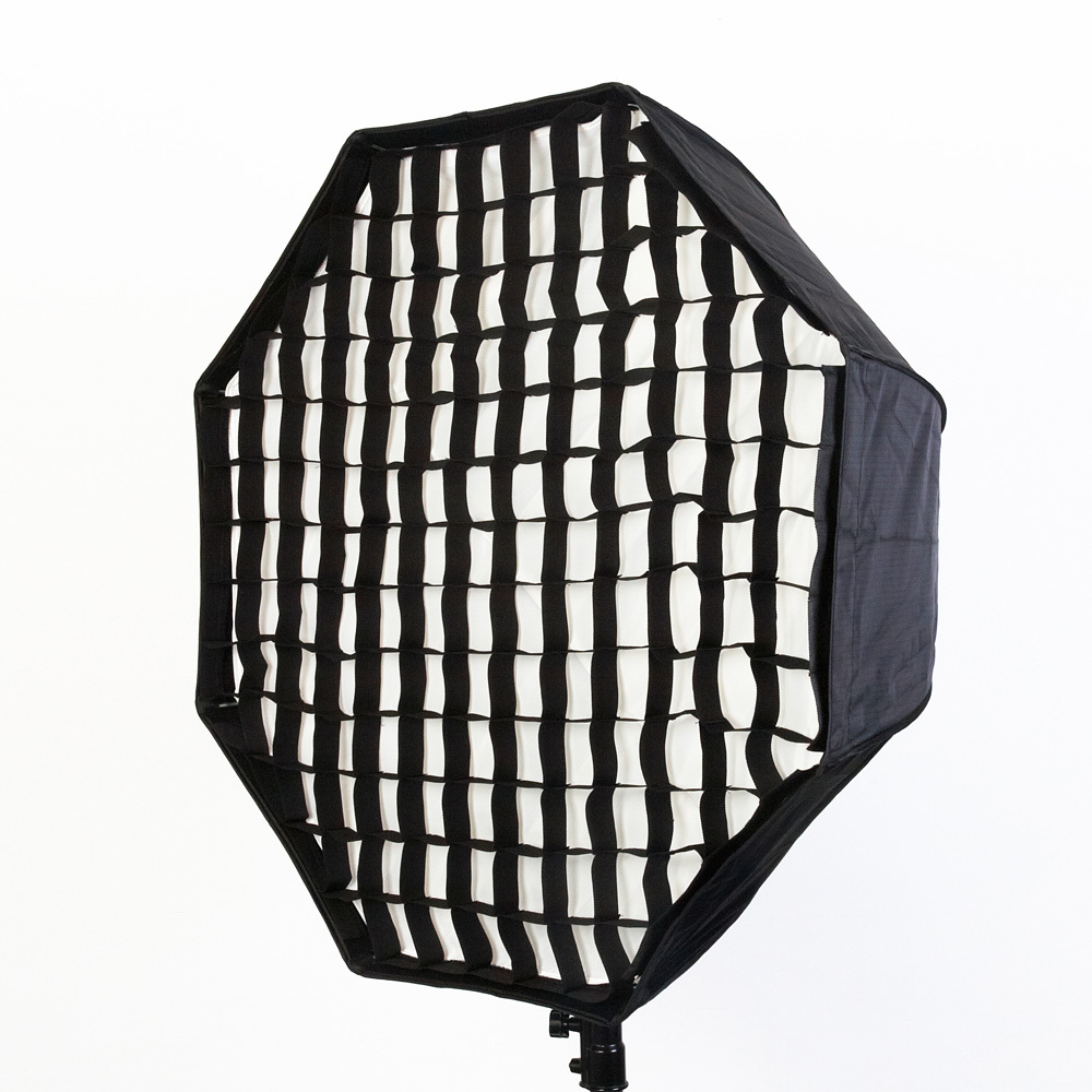 umbrella octagon softbox brolly reflector with grid for speedlite flash 120cm studio softbox