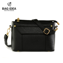 Fashion Shoulder Bag Purse Women Pu Leather Handbags Solid Flap Crossbody Bag Women Messenger Bags Bolsa Feminina Bolsos Mujer