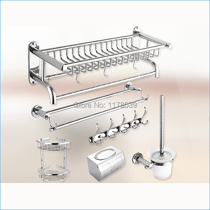 bathroom hardware accessory set,Stainless steel bath hardware accessories,Free Shipping J15286(China (Mainland))