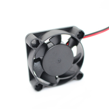 5pcs/lot 3D Printer Reprap Cooling Fan 40*40*10mm 12V 0.11A With 2 Pin Dupont Wire   Free Shipping !