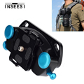 New Metal Camera Quick Release Belt Buckle Waist Strap Mount Button Hanger Holder Tripod For Camera