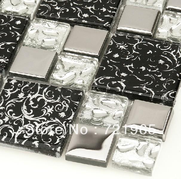 com buy siver glass mosaic tiles mirror kitchen backsplash tile