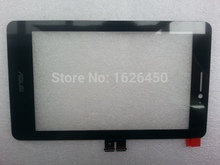 High quality tablet PC touch For Asus Fonepad 7 ME175 ME175CG 7″ Touch Screen Digitizer Panel Front Glass Lens Free Shipping