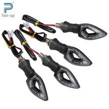 4x Universal 12V 1.3W 12 LED Motorcycle/Motorbike Turn Signal Indicators Blinker Amber Light Lamp Bulb for Honda Yamaha Etc.(China (Mainland))