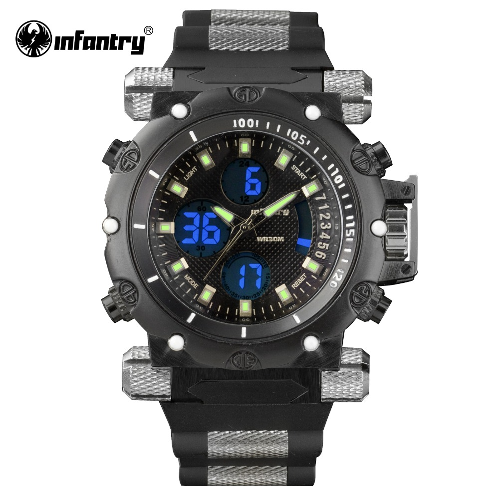 infantry s watches aviator luxury sport digital wrist