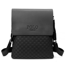 POLO 2016 New Style Men's Fashion Small Daypacks Crossbody and Shoulder Bags Leather Bag(China (Mainland))