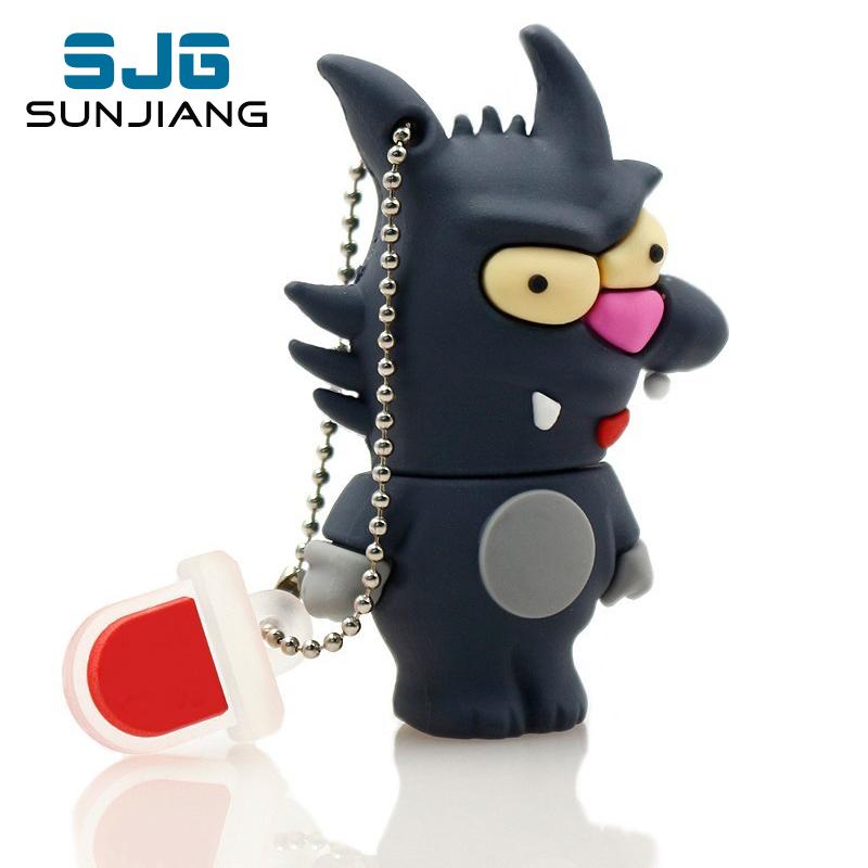 lovely pen drive cartoon animal cute Pokemon Pikachu USB Flash Drives thumb pendrive 4GB 8GB 16GB 32GB 64GB gift free shipping(China (Mainland))