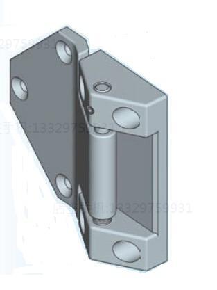 Brushed stainless steel heavy hinged EMKA cold storage hinge steaming cabinet hinge 1054-U39 refrigerated cabinet hinge(China (Mainland))