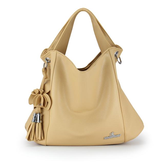 2012 Women large capacity female shoulder messenger bag fashion tassel