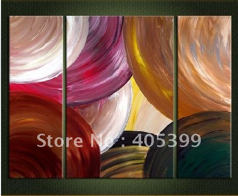 Free Shipping Worldwide ,Gallery Quality Modern Wall Art Canvas Oil Painting ytth020(China (Mainland))