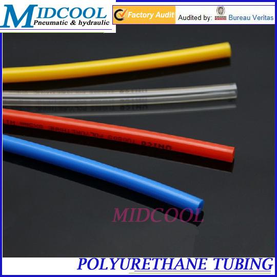 pneumatic hose thermoplastic polyurethane tubing PU10*6.5 pipe OD 10mm ID 6.5mm Length 100m PU tube(China (Mainland))