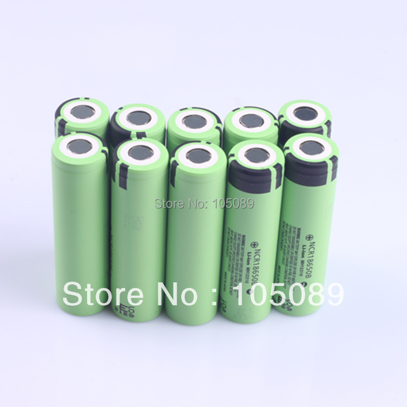 10PCS/lot New Original 3400mah 18650 Rechargeable battery NCR18650B For panasonic Free Shipping(China (Mainland))