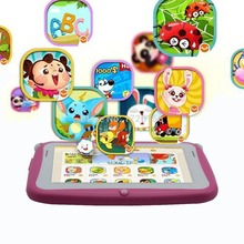 Original 4.3 Inch KIDS Android Tablets PC WIFI Dual camera tab pc gift for baby and kids tab pc 512MB 4GB KIDS tab 7 8 9 10 10.1(China (Mainland))