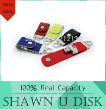 USB flash drive Leather & metal keyring PenDrive & pen drive 128GB usb 2.0 flash drive 512GB 64gb Memory U Disk & u stick