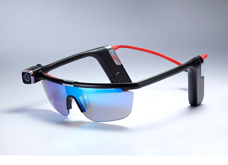 Wireless Smart Camcorder Glasses With 1600MP Camera 1080P Video WiFi Connectivit