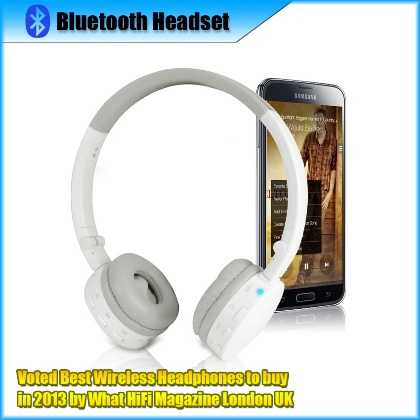 Mini Bluetooth Stereo Headset Bass Sound Voted Best Wireless Headphones to buy in 2013 Portable MP3/MP4 Player with hands-free(China (Mainland))