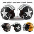 TORC helmet casco capacete vintage motocross helmets T57 moto cafe racer motorcycle scooter 3 4 retro