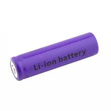 1 PCS 4900 mAh Rechargeable Li-ion Battery 18650 3.7V Purple For Flashlight Torch Brand New