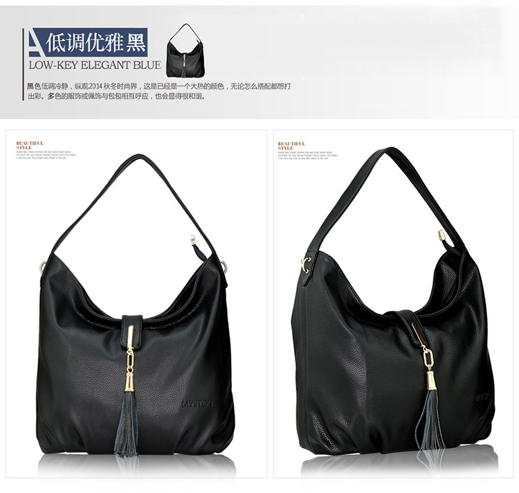 Women Messenger Bags Fashion Genuine Leather Handbag ...