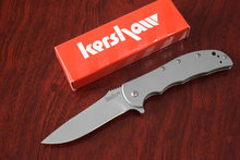 8Cr13mov Steel Usa Kershaw 3655 ss Tactical Folding knife Hunting knives camping tool survival Edc Tool