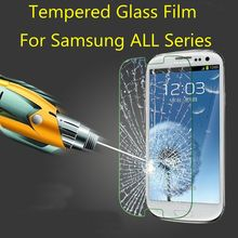 Screen Protector Tempered Glass Film Case For Samsung Galaxy A3 A5 A7 S3 S4 S5 S6 mini Core Grand Prime Neo Plus J3 J5 J7 2016(China (Mainland))