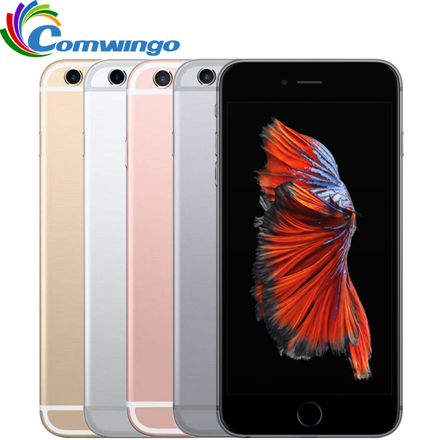 Оригинальный Apple iPhone 6 S Plus IOS 9 Двухъядерный 2 ГБ RAM16/64/128 ГБ ROM 5.5 ''12.0MP Камера iphone6s plus LTE Smart используется телефон