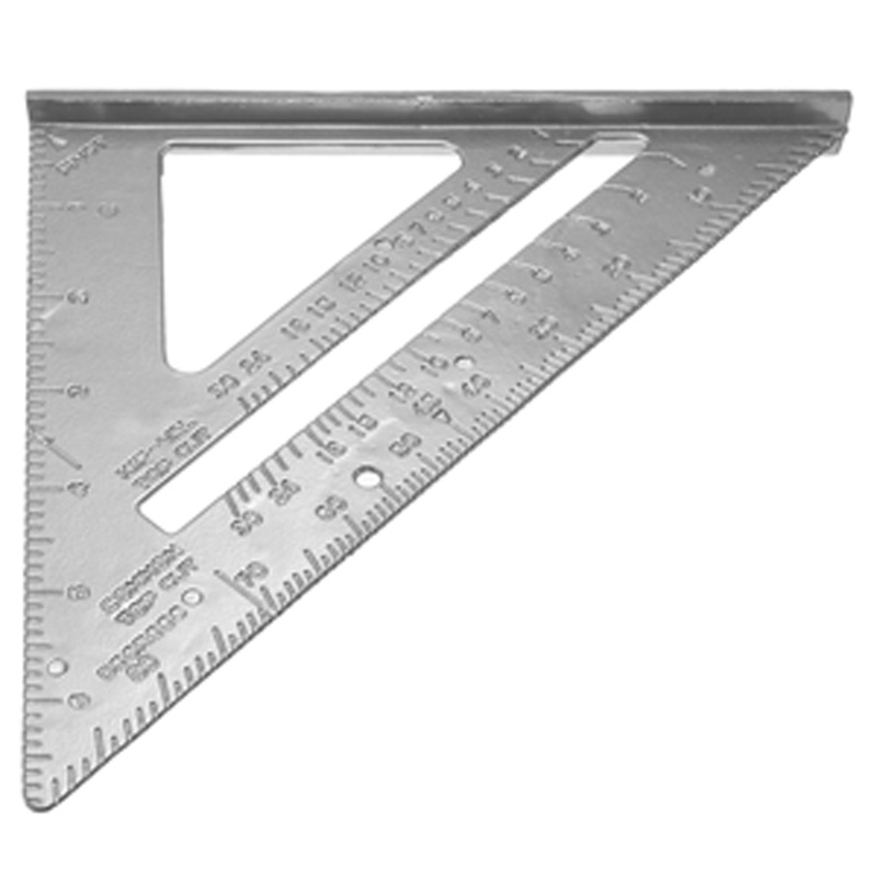 2016 new Aluminum Alloy Speed Square Protractor Miter Framing Measurement Carpenter Free Shipping FULI(China (Mainland))