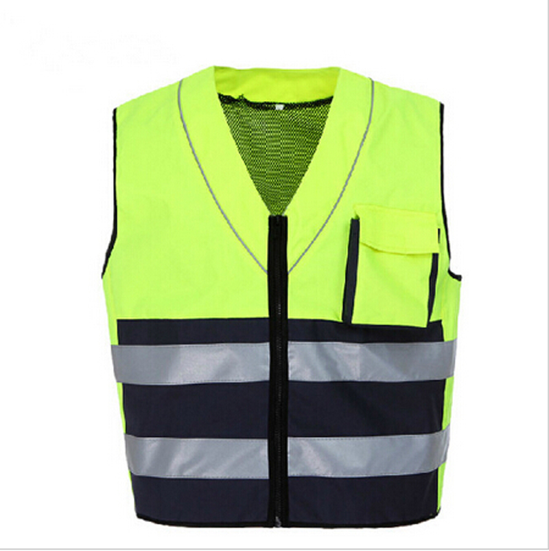 Fashion breathable High qualit Reflective vest reflective safety clothing Motorcycle Workwear chaleco reflectante