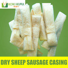 26 meter total Dry sheep casing 10pc/bag Diameter 18mm-20mm natural sheep Sausage cover,Sausage skin, free shipping(China (Mainland))