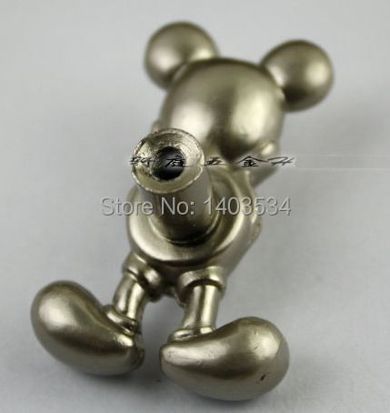Гаджет  10pcs Silver Mickey Mouse Knobs Dresser Pulls and Modern  Kitchen Cabinet Baby Cabinet Pulls Wholesale None Мебель