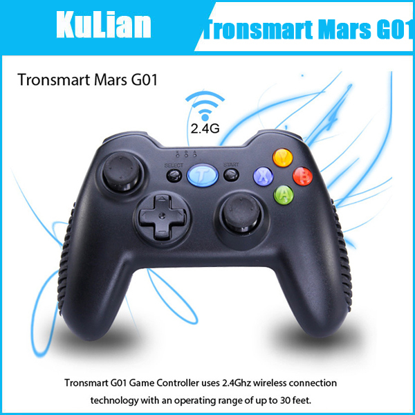 Tronsmart Mars G01 2.4G Wireless Gamepad Joystick Controller Support Android TV BOX Android Cell Phone PS3 Tablet PC MINI PC(China (Mainland))