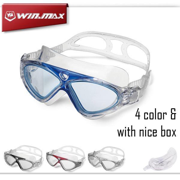 2015 Winmax New Professional Anti Fog and Anti UV Adult Swim Pool Water Eyeglasses High Quality Swimming Goggles(China (Mainland))