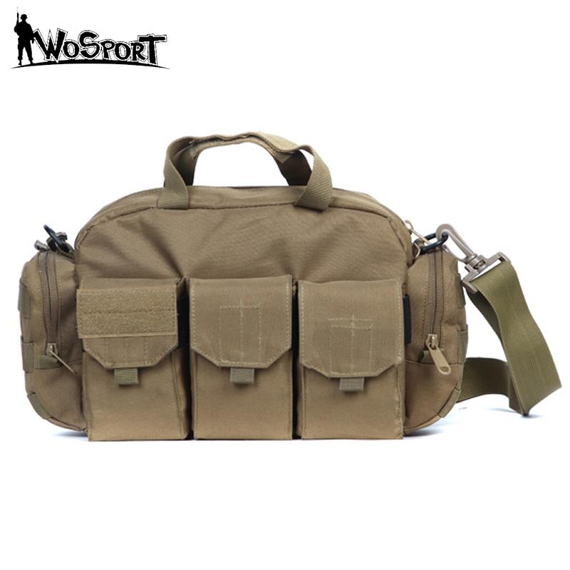 Tactical Shoulder Bags Men Outdoor Sport Climbing Trekking Crossbody Messenger Bags Camping Travel Bag Military Army Equipment(China (Mainland))
