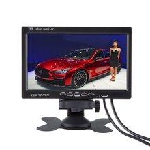 """7 """"tft lcd car monitor auto retrovisor 7 pollici monitor car 16:9 dc12v monitor lcd nuovo schermo digitale supporto computer(China (Mainland))"""