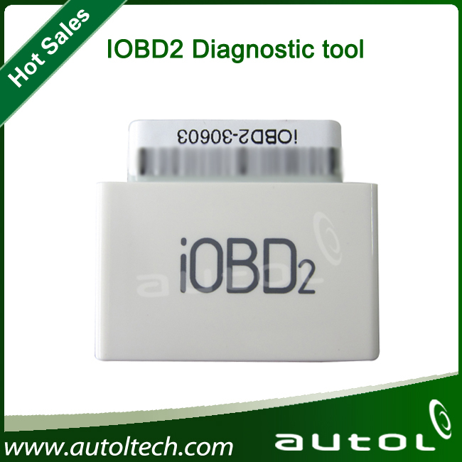 iOBD2 vehicle diagnostic tool with software compatible with iPhone and iPod OS4.3 version or above(China (Mainland))