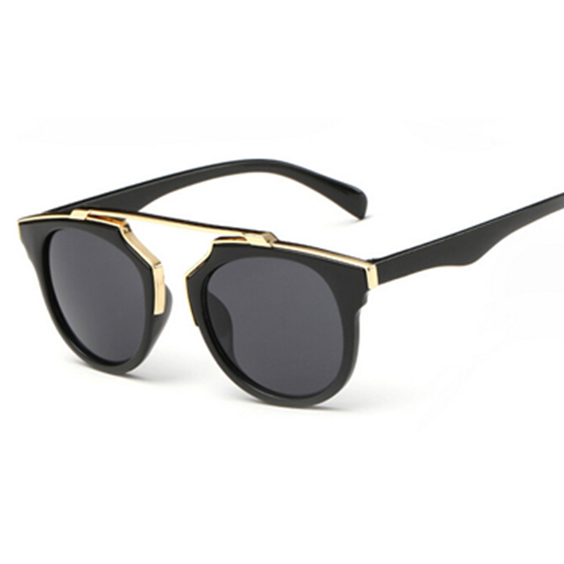 Ladies Metal Frame Glasses : Fashion Ladies Sun Glasses Metal with Cystal Frame Mirror ...