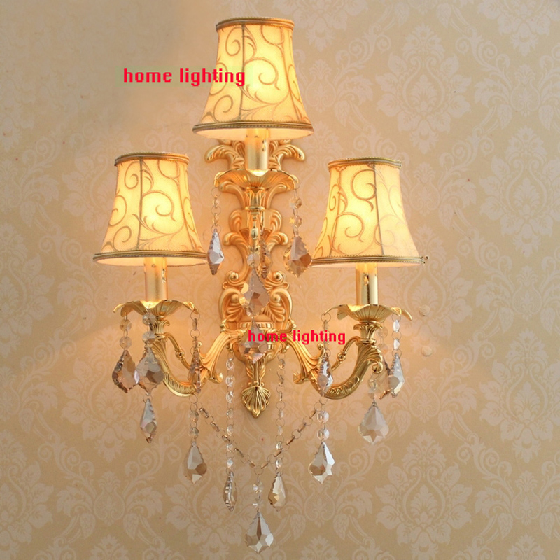 flush mount sconces led three lights candle wall sconces modern wall lighting unique wall sconce gold finish wall lamp<br><br>Aliexpress