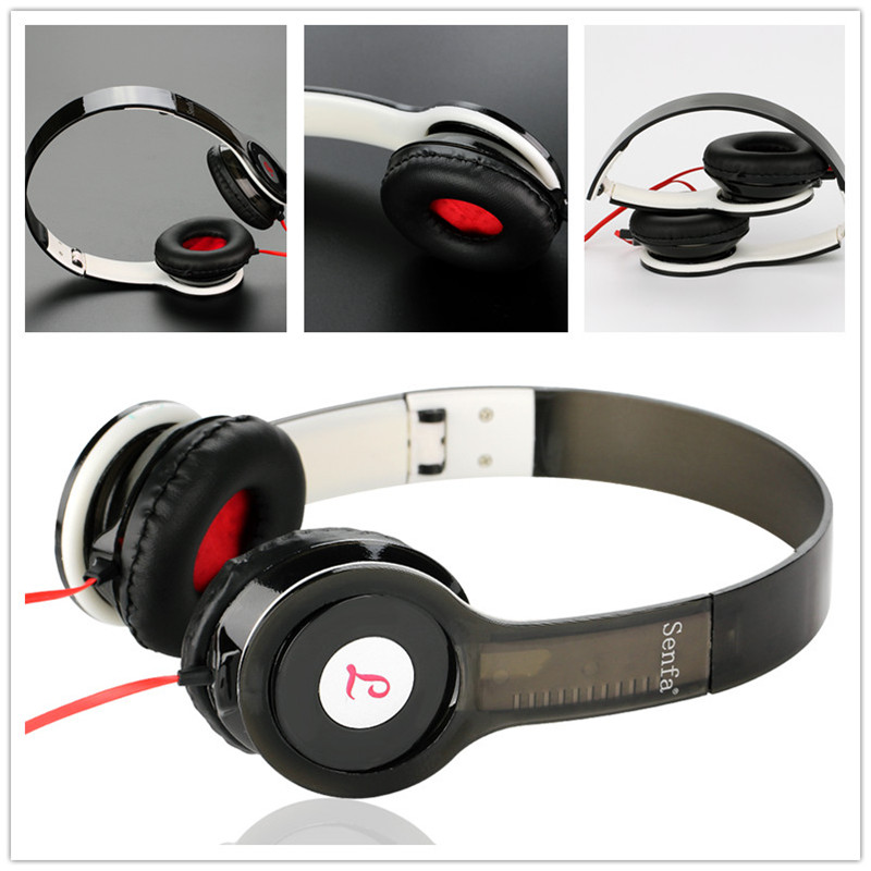 Brand New Noise Reduction Adjustable Headphone Stereo Surrounded Headband Headset Casque Audio for Smartphone Computer PC Gamer(China (Mainland))