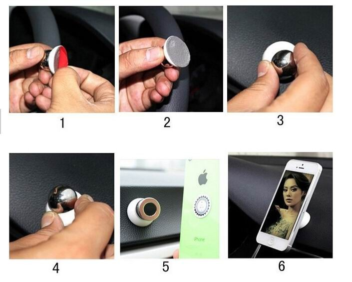 Magnetic Mobile Phone Holder Car Phone Holder Stand for iPhone And Samsun All the Smartphone