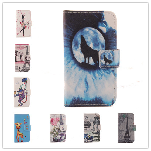 For Utime Smart PDA S38 U100 u100S Flip Cover Skin Pouch With Card Slot Optional PU Leather Case Phone Case In Stock Painted(China (Mainland))