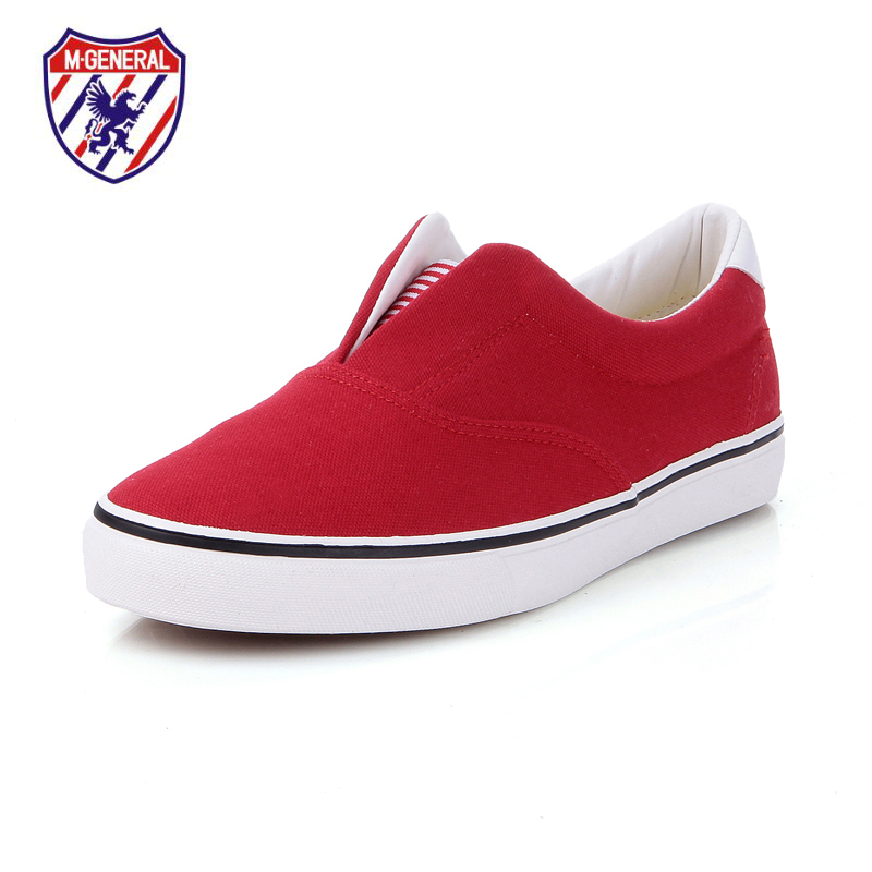 M.GENERAL Unisex Women Men's Fashion Flats Canvas Casual Shoes 2015 New Spring Summer Solid Style Walking Sapato Feminino(China (Mainland))