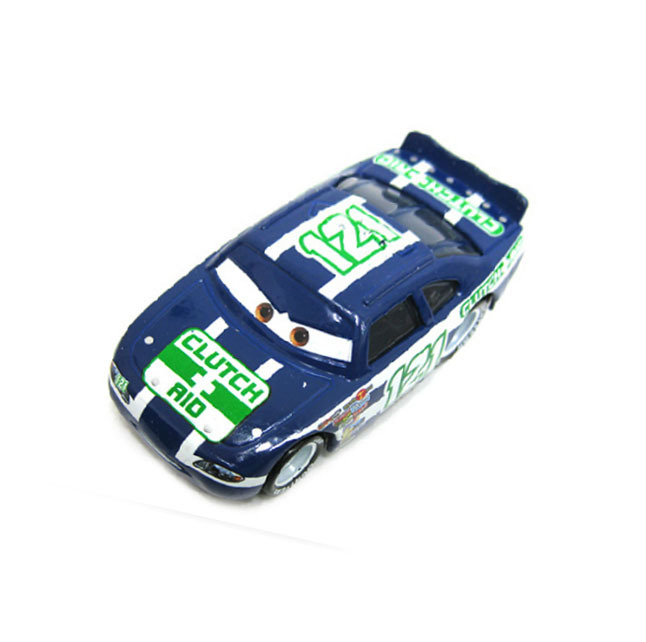 Pixar Movie Cars Diecast Toy # 121 Clutch Aid Loose Car(China (Mainland))