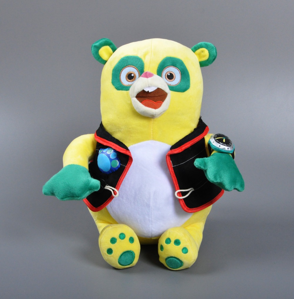 2016 Anime Special Agent OSO Plush Toy Lovely 38cm Cartoon Kids Toy Bear Boy&Girls Christmas Gifts Plush toy collectibles doll(China (Mainland))