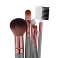 5Pcs set Mini Soft Makeup Brushes Set for Foundation Powder Eyeshadow Eyebrow Comb Lip Blending Blush